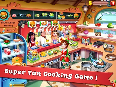 screenshot of Rising Super Chef - Craze Restaurant Cooking Games version 4.2.2