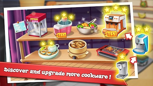 screenshot of Rising Super Chef - Craze Restaurant Cooking Games version 3.8.1