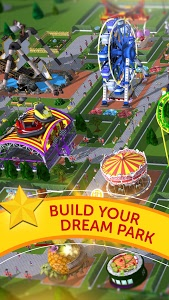 screenshot of RollerCoaster Tycoon Touch version 2.3.1