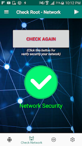 screenshot of Root Access Checker - Security Network Checker version 2.25.34