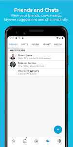 screenshot of RosterBuster - flight and cabin crew roster app version 2.22.03.0.000