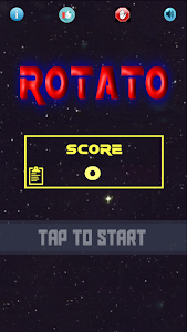 screenshot of Rotato Space War Galaxy Mania version 1.2.3-fix