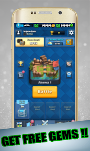 screenshot of Royale Gems Of Clash version 1.1.1