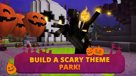 screenshot of Scary Theme Park Craft: Spooky Horror Zombie Games version 1.9-minApi19