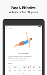 screenshot of Seven - 7 Minute Workout version Varies with device