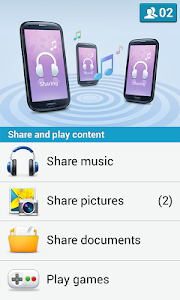 screenshot of Share music for Group Play version 2.1.0