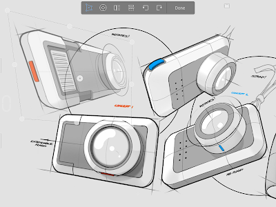screenshot of SketchBook - draw and paint version Varies with device
