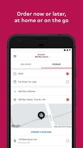 screenshot of SkipTheDishes - Food Delivery version 3.24.6