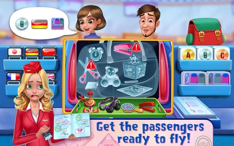 screenshot of Sky Girls - Flight Attendants version 1.0.5