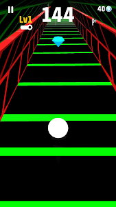 screenshot of Slope Run version 1.3.1