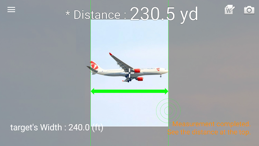 screenshot of Smart Distance version 1.4.8