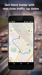 screenshot of GPS Route Finder - Route Tracker Maps & Navigation version 1.3