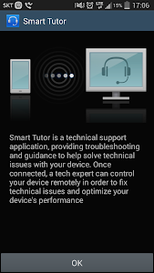 screenshot of Smart Tutor for SAMSUNG Mobile version 1.5 (build 224)