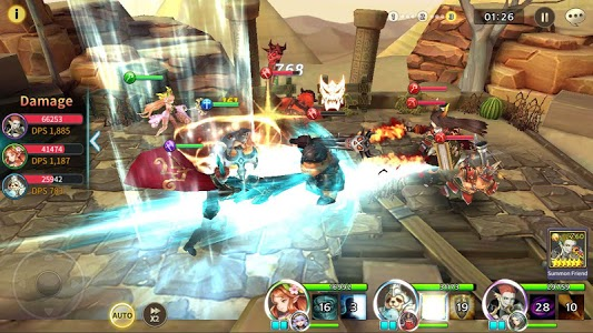 screenshot of Soul Seeker: Six Knights – Strategy Action RPG version 1.3.604