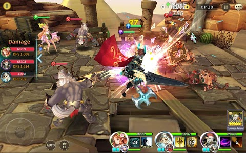 screenshot of Soul Seeker: Six Knights – Strategy Action RPG version 1.2.401