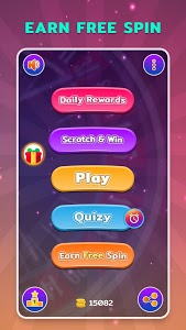 screenshot of Spin ( Luck By Spin 2019 ) version 9.8