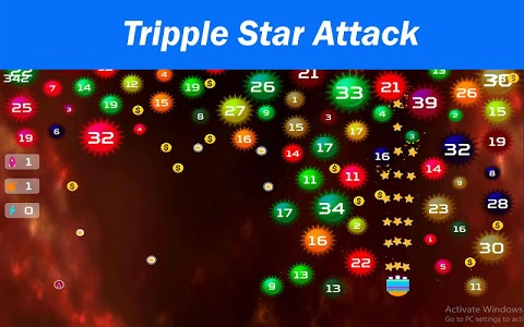 screenshot of Star Blaster - Save The Planet Earth From Evil Sun version 1.0.1