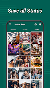 screenshot of Status Saver for WhatsApp - Save & Download Status version 1.01.29.0303