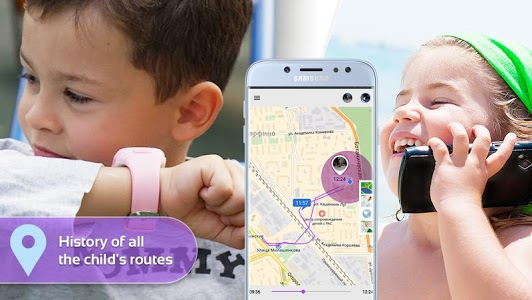 screenshot of Step By Step: Child`s phone and gps watch tracker version 2.2.0