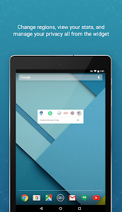 screenshot of SurfEasy Secure Android VPN version 4.1.4