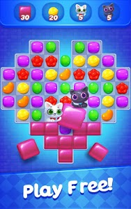 screenshot of Candy Witch - Match 3 Puzzle Free Games version 12.1.3953