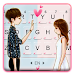 Sweet Couple Love Keyboard Theme
