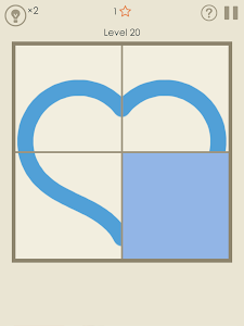 screenshot of Symmetry - Drawing Puzzles version 1.3