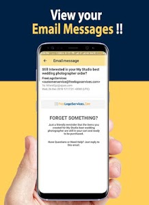 screenshot of T Mail - Temporary Email version 1.9