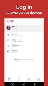 screenshot of TED version 4.4.0