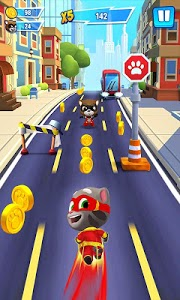 screenshot of Talking Tom Hero Dash version 1.0.16.517