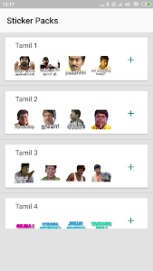 screenshot of Tamil Stickers For WhatsApp: WAStickerApps version 1.1