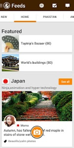 screenshot of Taptrip - Make Foreign Friends version 5.7.1