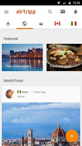 screenshot of Airtripp: Friends,Chat, Travel version 7.0.9