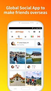 screenshot of Airtripp:Free Foreign Chat version 7.6.3