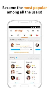 screenshot of Airtripp:Free Foreign Chat version 7.6.16