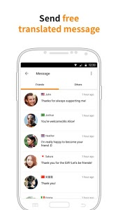 screenshot of Airtripp:Free Foreign Chat version 7.3.0