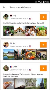 screenshot of Airtripp: Find Foreign Friends version 7.0.6