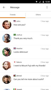 screenshot of Airtripp:Free Foreign Chat version 7.1.8
