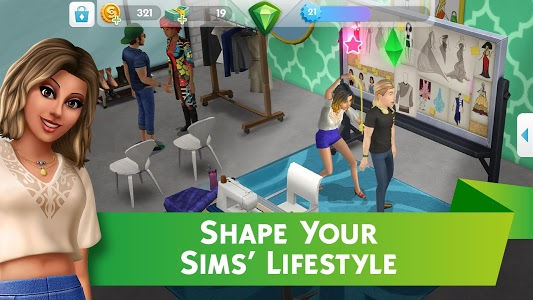 screenshot of The Sims™ Mobile version 16.0.0.72138