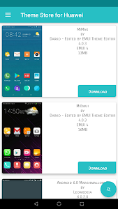 screenshot of Themes for Huawei version 7.5