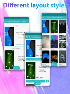 screenshot of Themes for Huawei & Honor version 14.0.1
