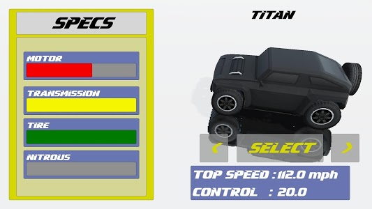 screenshot of Tiny Cars for kids version 1.0