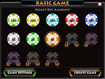 screenshot of Tongits Wars version 2.205