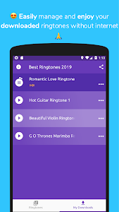 screenshot of Top 100+ New Ringtones 2019 Free | For Android™ version 1.0.11