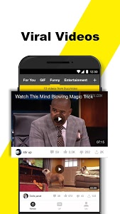 screenshot of BuzzVideo - Viral Videos, Funny GIFs &TV shows version 7.1.2