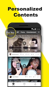 screenshot of BuzzVideo - Viral Videos, Funny GIFs &TV shows version 6.8.3