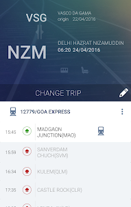 screenshot of Travelkhana-Train Food Service version 2.5.4