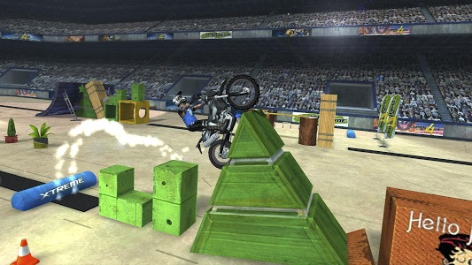 screenshot of ?Trial Xtreme 4? version 2.4.0