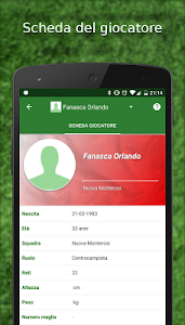 screenshot of Tuttocampo - Calcio version Varies with device