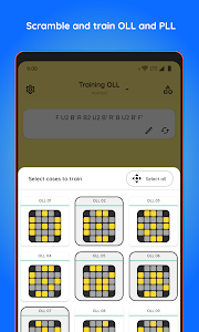 screenshot of Twisty Timer version 4.6.4
